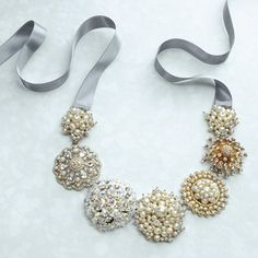 make with odd clip on earrings and brooches