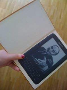 How to make a Hollow Book......Operation Kindle II (9of10) by Nicola @ Smitten Kitten, via Flickr