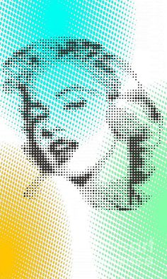 marilyn on dots