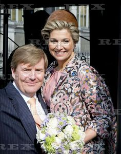 Dutch Royals visit to Paris, France - 11 Mar 2016  King Willem-Alexander and Queen Maxima at the Hotel de Ville in Paris 11 Mar 2016