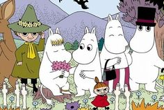 Moomin (1969 TV series, animation by Hayao Miyazaki). Knowing the Miyazaki connection makes this even more awesome.