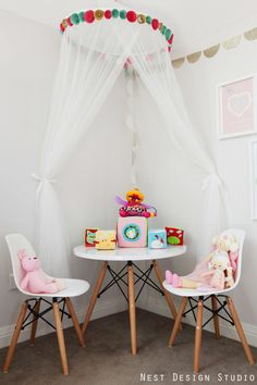 Play Area for Girl's Room - #Projectnursery