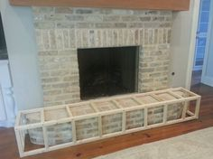 fireplace guard's weight is resting fully on the hearth