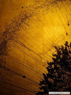 Art based on neurons by Greg Dunn.