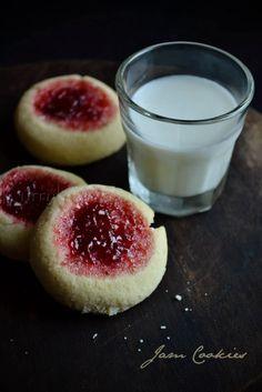 ... : Rice flour jam cookies   Thumbprint cookies   Gluten free recipe