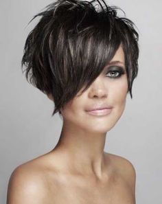 On of my favorite short hair styles is a Sassy Pixie!