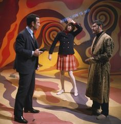 Don Adams as Maxwell Smart Agent 86 Barbara Feldon as Agent 99 Larry Storch as Groovy Guru