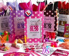 HEN DO PERSONALISED PARTY BAG +8 FILLERS CREATE YOUR OWN HEN NIGHT FUN GIFT IDEA