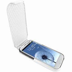 Piel Frama 585 iMagnum White Leather Case for Samsung Galaxy S III    $89.00    @casesdotcom #PielFrama #Samsung #SamsungGalaxySIII #SamsungGalaxyS3 #GalaxySIII #GalaxyS3 #SamsungGalaxy #Galaxy