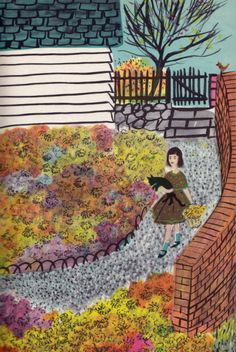 In My Garden by Charlotte Zolotow, illustrated by Roger Duvoisin, 1960.