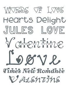 valentine fonts http://alderberryhill.blogspot.com/2012/01/valentine-fonts-2.html