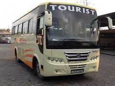 Image result for tourist bus service in nepal with graceful