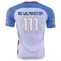 942fdb628 USA National Team 2016 WILMINGTON  111 American Outlaws Home Soccer Jersey  USA National Team 2016 WILMINGTON  111 American Outlaws Home Soccer jerseys