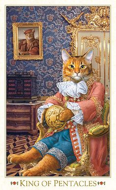 The King of Pentacles...