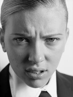 Scarlett Johansson by Russell James