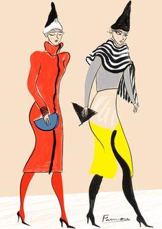 HIROKO NAKAJIMA FOR AMELIA'S MAGAZINE - Emma Farrarons | Illustration & Art Direction