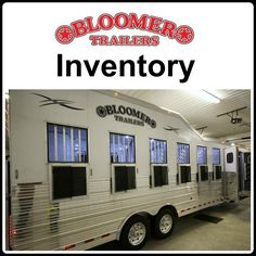 Bloomer Trailers Inventory of horse trailers from Triple C Trailer Sales.