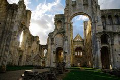 Sacked by Vikings, blessed by William the Conqueror, dealt a fatal blow during the French Revolution—these ruins have it all.