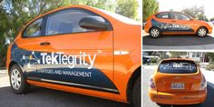 TekTegrity car wrap