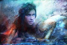 """Splash""  one of my paintings updated -- soon a cover art    xn--phatpuppyart-...    Facebook  facebook.com/..."