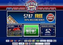All star slots mobile casino football gambling square grid