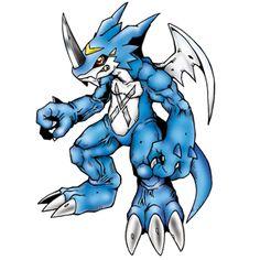 ExVeemon - Champion level Mythical Dragon digimon