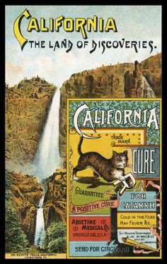 California Cure | Guaranteed, a Positive Cure for Catarrh, Cold in the Head, Hay Fever, &c