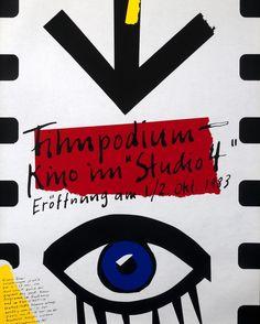 Tuesday: Filmpodium - Kino Im Studio 4 by Paul Bruhwiler (1983)