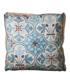 Blue Nature French Pillow #zulilyfinds