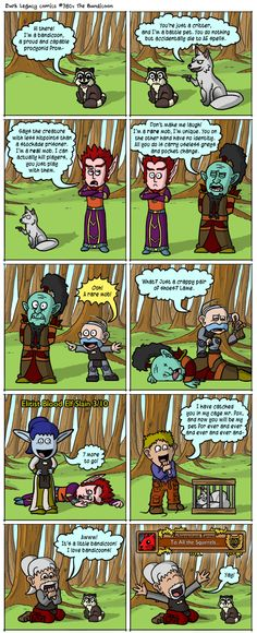 The difference between a critter and a battle pet - Dark Legacy Comics
