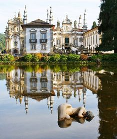 Casa de Mateus, Portugal on my bucket list next time I am in the area! next stop Madeira Portugal! Douro Portugal, Visit Portugal, Spain And Portugal, Portugal Travel, Vila Real Portugal, Places Around The World, Oh The Places You'll Go, Places To Travel, Places To Visit