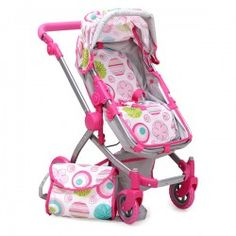 Stroller for dolls - Pink Rose Strollers For Dolls, Baby Strollers, Baby Car Seats, Children, Pink, Baby Prams, Young Children, Boys, Kids