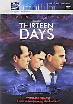 Thirteen Days DVD 2001 Costner NEW FACTORY SEALED FREE SHIPPING / TRACKING US #NewLineHomeEntertainment