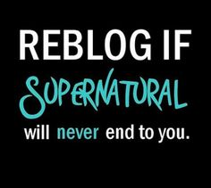 Never ~ Supernatural