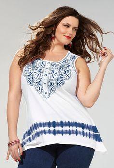 69e99e7a765 Boho Bold-Plus Size Outfit-Avenue Plus Fashion