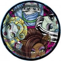 Plate Dinner Monster High Party Supplies : Perfect Party by Cody