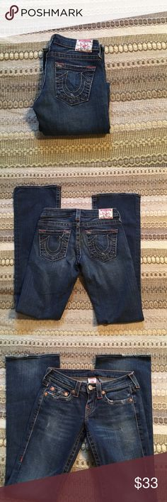 True religion jeans True religion Bobby style jeans. Slight fraying on the cuff True Religion Jeans Boot Cut