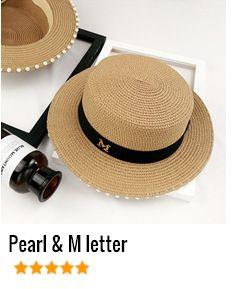 HSS Original Design New Women Sun Hat Flat top shade straw hats Fashion Golden Bow Ribbon Sea Beach Caps Fast shipping