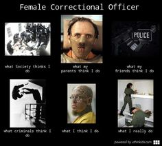 Dating a female corrections officer
