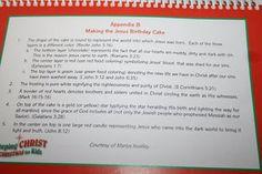 The Happy Birthday Jesus Cake Details