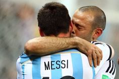 After LM10 quits Sergio Aguero & Javier Mascherano quit Argentina too [Tweets]