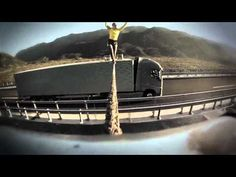 "Volvo Trucks ""The Ballerina Stunt"" - This work was created by Forsman & Bodenfors / Sweden."