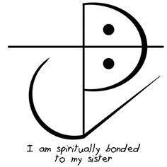 """Sigil Athenaeum - """"I am spiritually bonded to my sister"""" sigil """"I..."""