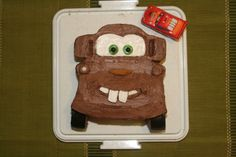 Mater cake for a Cars 2 birthday party