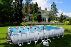 Ogrooomny basen - ogrooomnie świetna zabawa :)