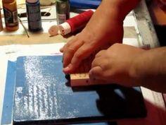 Gelli Plate Fun - YouTube