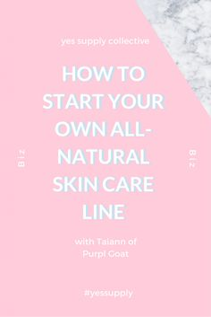 How to start your own natural skin care home business Check out Makeup Tutorials Tips and Tricks on How to Get a Healthy Skin How to wash you face to take proper care of it and help keep your skin healthy. Useful advice about what you need to know when starting your own business. Having control about your finances is key to becoming a successful business owner. This is also useful when you're already running a small business. In this blog, you will learn how to make a Natural Face…