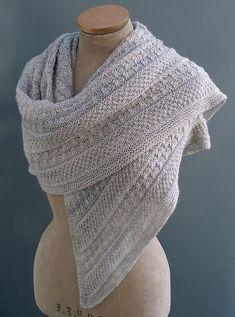 Ravelry: Lichen & Moss shawl pattern by Sue Lazenby