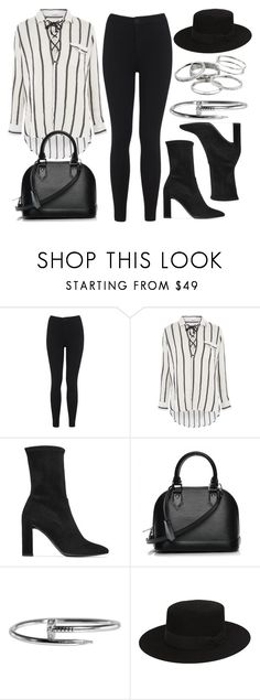 """Sin título #13393"" by vany-alvarado ❤ liked on Polyvore featuring Miss Selfridge, Glamorous, Stuart Weitzman, Louis Vuitton, Yves Saint Laurent and Kendra Scott"