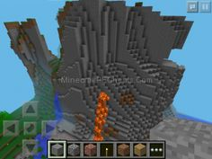The seed is hajimashte.is a cool seed.(its for minecraft pe).